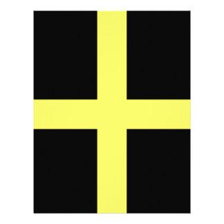St. David's Day Flag Custom Letterhead