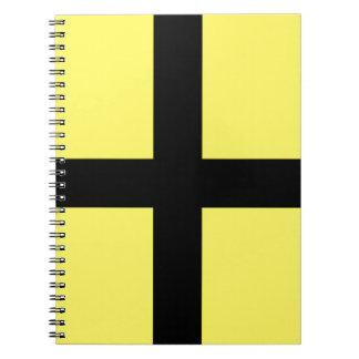 St. David's Day - Flag Spiral Notebooks