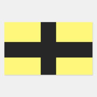 St. David's Day - Flag Rectangular Sticker