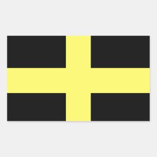 St. David's Day Flag Rectangular Sticker