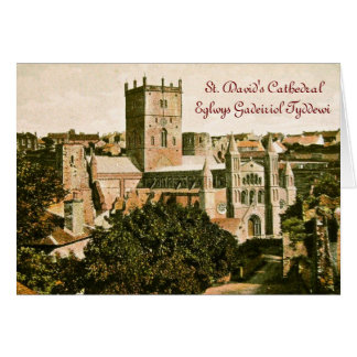 St. David's Day Greeting Card