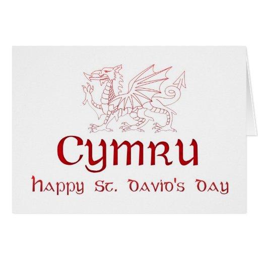 St. David's Day, Saint David, Ddydd Gwyl Dewi Sant Cards