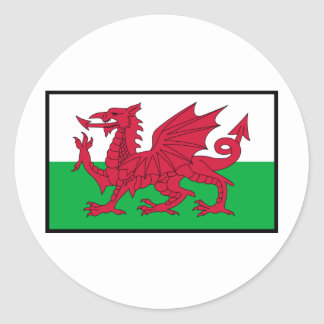 St. David's Day Tees, Gifts, Cards, Totes Classic Round Sticker