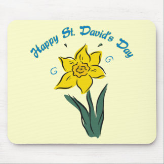 St. David's Day Tees, Gifts, Cards, Totes Mouse Pad