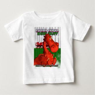 St. David's Day, Welsh Card, Dydd Gwyl Dewi Sant Baby T-Shirt