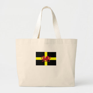 St Davids Day with Dragon Canvas Bag
