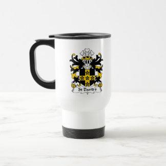 St David's Family Crest Mugs