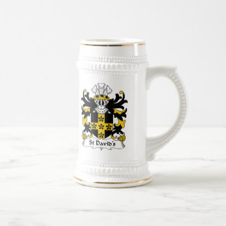 St David's Family Crest Coffee Mugs