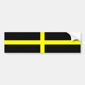 St. David's Flag Wales Welsh Bumper Sticker