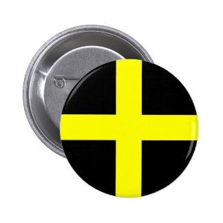St. David's Flag Wales Welsh Button