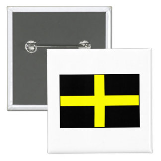 St. David's Flag Wales Welsh Buttons