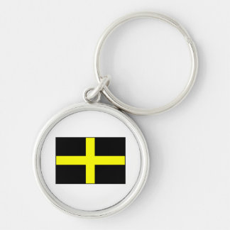 St. David's Flag Wales Welsh Keychains