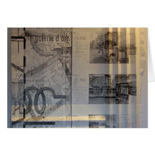 St de 140 regentes - dibujo tarjeta de felicitación