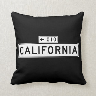 St. de California, placa de calle de San Francisco Cojín