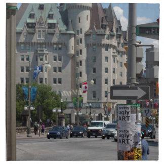 St. de ELGIN de la ruda, Montreal Servilleta Imprimida