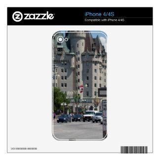 St. de ELGIN de la ruda, Montreal Skins Para iPhone 4