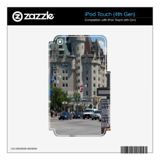 St. de ELGIN de la ruda, Montreal Skins Para iPod Touch 4G