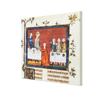 """St. de la alimentación, """"de la vida y de los milag impresion en lona"""
