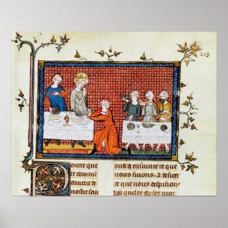 """St. de la alimentación, """"de la vida y de los milag póster"""