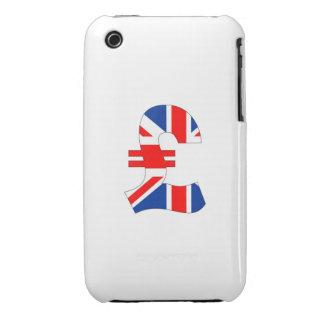 st de la bandera de Reino Unido del dinero del Case-Mate iPhone 3 Cobertura