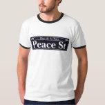 St. de la paz, placa de calle de New Orleans Playera