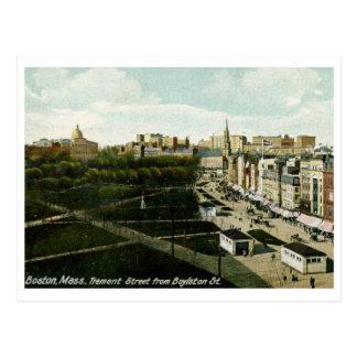 St. de Tremont, vintage de Boston mA Tarjetas Postales