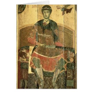St. Demetrius of Salonica, 12th century Card