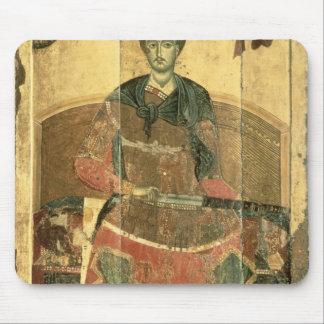 St. Demetrius of Salonica, 12th century Mouse Pad