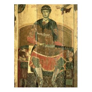 St. Demetrius of Salonica, 12th century Postcard