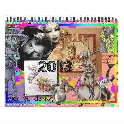 St Dennis de Rick y calendario de los amigos 2013