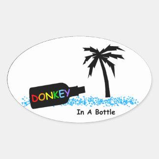 ST - DIAB Color Text Bottle Sticker