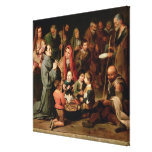 St. Diego of Alcala Giving Food to the Poor Gallery Wrap Canvas