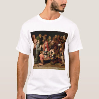 St. Diego of Alcala Giving Food to the Poor T-Shirt