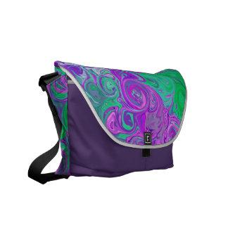 St. Diseño PurpleGreen ©2016CAT del el día de San Bolsas De Mensajeria