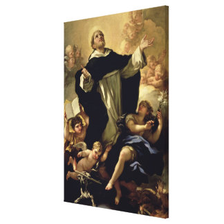 St. Dominic, 1170-1221 Canvas Print