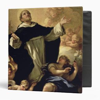 "St Dominic, 1170-1221 Carpeta 1 1/2"""