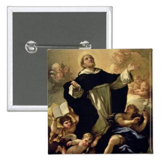 St Dominic, 1170-1221 Pin Cuadrada 5 Cm