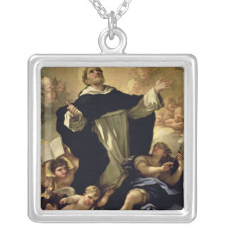 St. Dominic, 1170-1221 Silver Plated Necklace