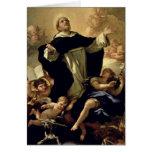 St Dominic, 1170-1221 Tarjeta De Felicitación