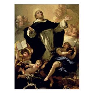 St Dominic, 1170-1221 Tarjetas Postales