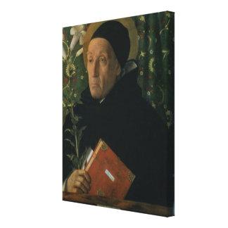 St Dominic, 1515 (aceite en lona) Lienzo Envuelto Para Galerías
