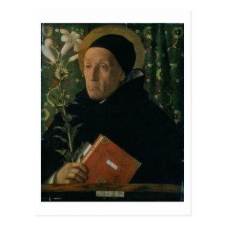 St Dominic, 1515 (aceite en lona) Tarjetas Postales