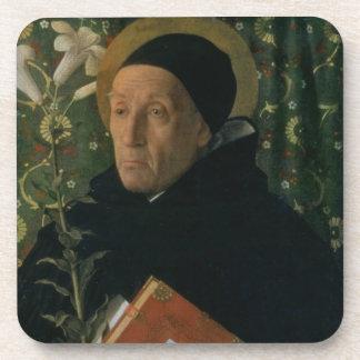 St. Dominic, 1515 (oil on canvas) Coaster