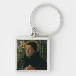 St. Dominic, 1515 (oil on canvas) Keychain