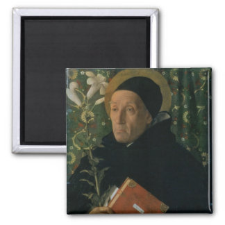 St. Dominic, 1515 (oil on canvas) Magnet