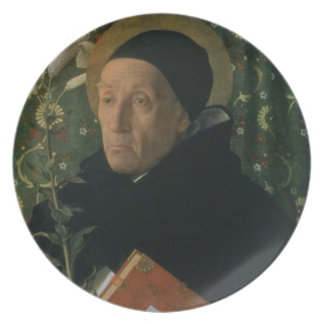 St. Dominic, 1515 (oil on canvas) Plate