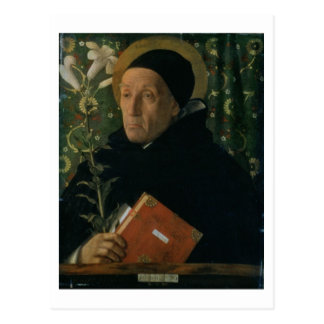 St. Dominic, 1515 (oil on canvas) Postcard