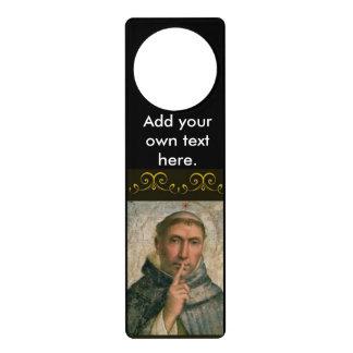 St. Dominic -Add your own text Door Hanger