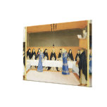 St. Dominic and his Companions Fed by Angels Stretched Canvas Prints