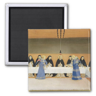 St. Dominic and his Companions Fed by Angels Magnet